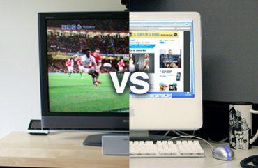 Kas didesnis priešas – kompiuteris ar televizorius?