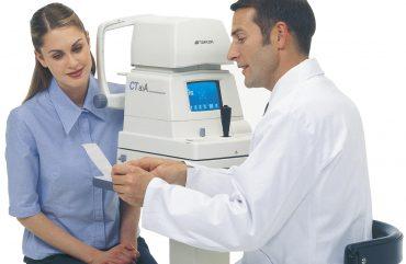 Akių ligų diagnostika nauju moderniu aparatu – AUTO-REFRAKTO-KERATOMETRU