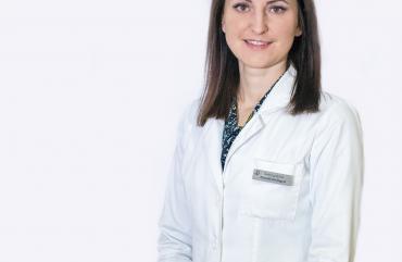 Prie klinikos komandos prisijungė jauna, profesionali šeimos gydytoja Deividė DIRINGYTĖ