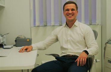 Gastroenterologijos centro profesionalų gretas papildė gydytojas gastroenterologas Gediminas ŠEMEKLIS